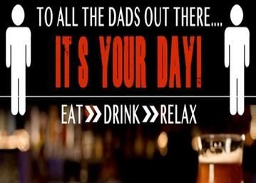 Grab A Beer, Get Your Feet Up & Relax, Happy Father's Day Dads
