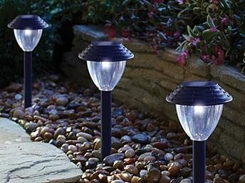 Solar garden lights, brighten up paths and borders with our new range