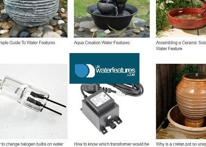 Handy Guides from UK Water Features
