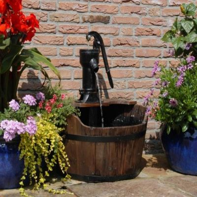 Exceptionnel View Wooden Water Features Products