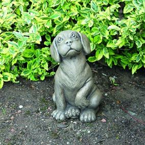 Puppy Beagle Stone Garden Ornament