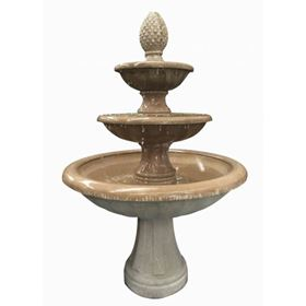 Aura Glass Reinforced Concrete Fountain Water Feature