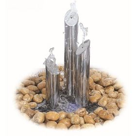 Avon Mini Stainless Steel Water Feature Polished Finish