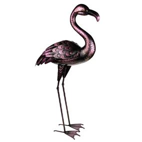 Meadow Metal Garden Flamingo