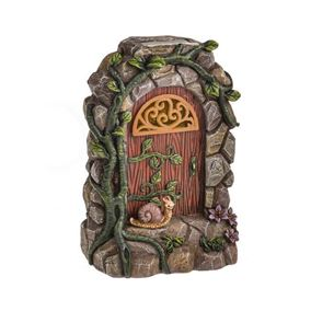 Secret Garden Solar Powered Fairy Door With Ivy