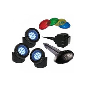 LED Pond Light Triple Pack Kit
