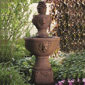 Two Tier Gabriel Fountain (Everglade Stone)