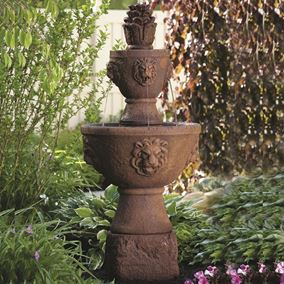 Two Tier Gabriel Fountain (Everglade Stone)