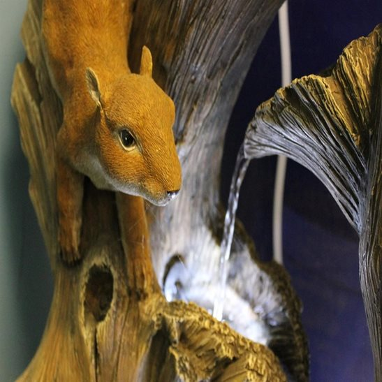 additional image for Squirrel on Branches Water Feature