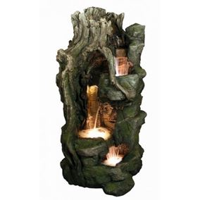 Woodland Multi Falls Lit Water Feature