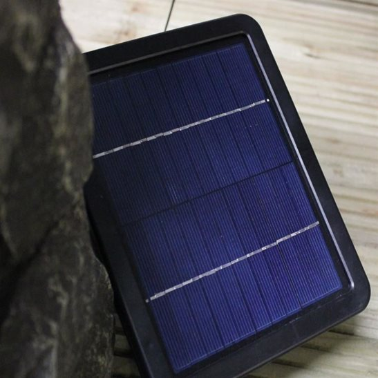 additional image for Solar Powered 4 Pool Rock Water Feature with Battery Back Up