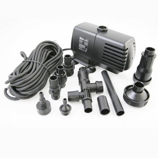 Xtra 2300 lph fountain water feature pump for Water feature pumps