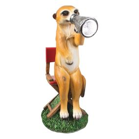 Movie Director Meerkat Solar Powered Garden Light