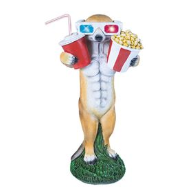 3D Movie Meerkat with 3D Glasses Solar Light