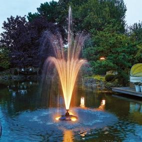 Light Set for Pond Jet Floating Fountain