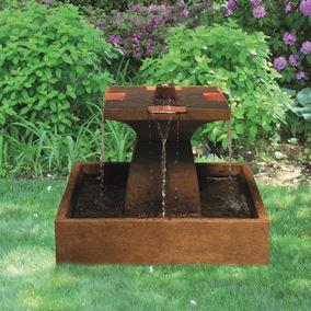 Cast Stone Candia Square Fountain