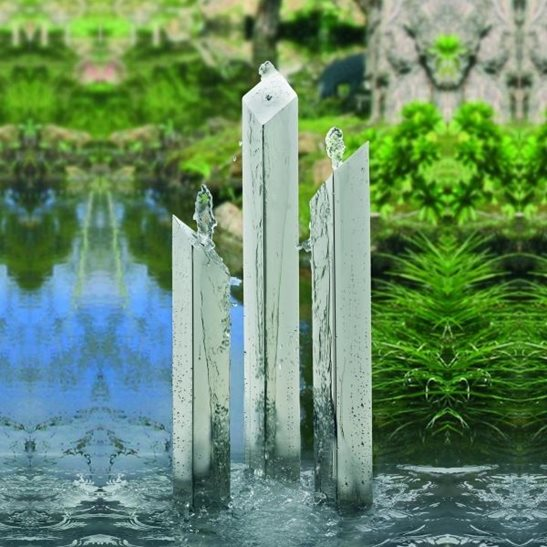 The Avon Unique Stainless Steel Water Feature