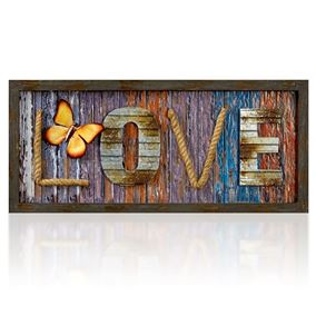 Love Garden and Home Wall Art