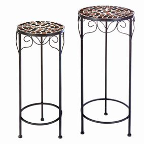 Strasbourg Set of 2 Garden Side Tables