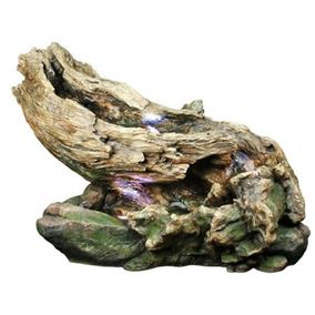 Driftwood River on Stone Water Feature