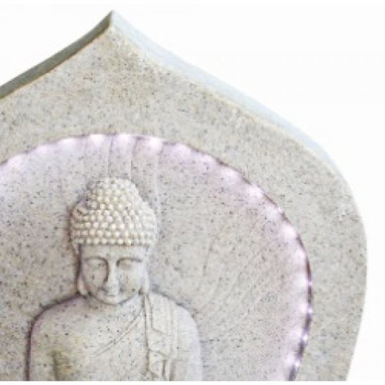 additional image for Buddha with LED Surround Water Feature