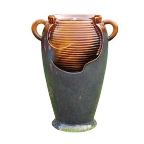 Maria Ceramic Water Feature with LED Light