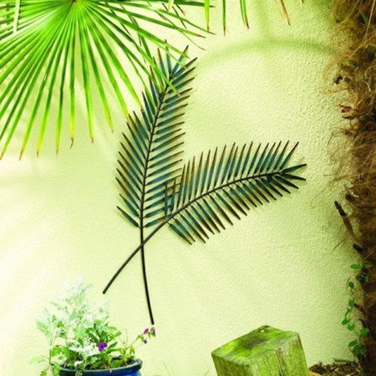 Palm Leaf Garden Wall Art
