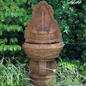Floral Garden Fountain