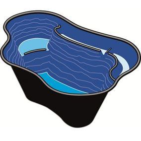 Calmus SII Pre-Formed Starter Pond (90cm x 135cm)