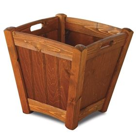 Dutch Teak Wooden Garden Planter (Extra Large) with Free Liner
