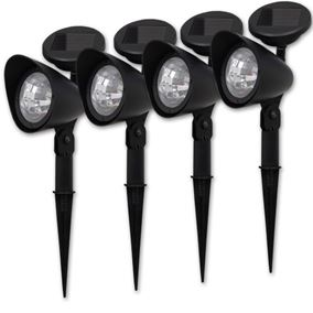 Solar Ultra Bright Spot Light (Four Pack)