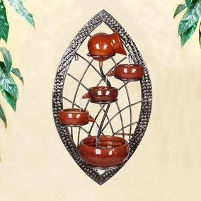 Alisa Ceramic Wall Fountain Water Feature