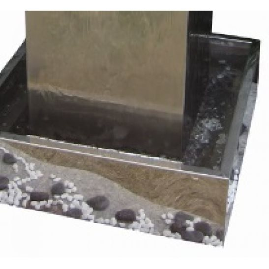 additional image for Kingston Stainless Steel Water Feature with LED Lights