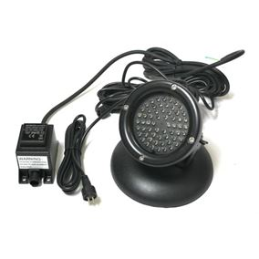 60 Warm White LED Underwater Pond Light with Light Sensor
