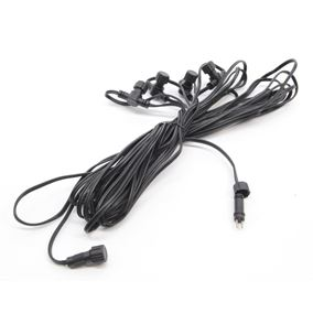 12V 12 Metre Extension Cable with 4 Offshoots (Low Voltage Lighting System)