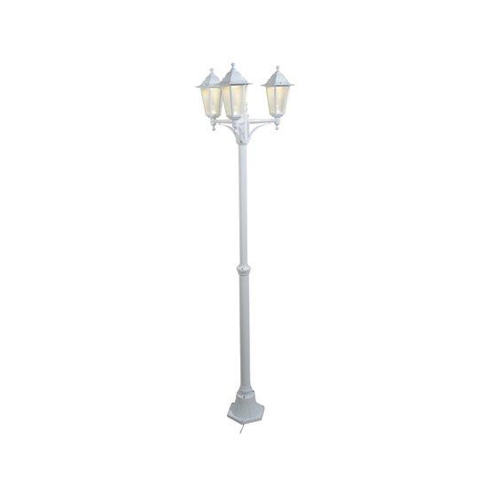 12v led white garden lamp post low voltage lighting system. Black Bedroom Furniture Sets. Home Design Ideas