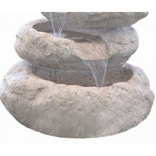 additional image for 6 Tier Sandstone Boulder Garden Water Feature