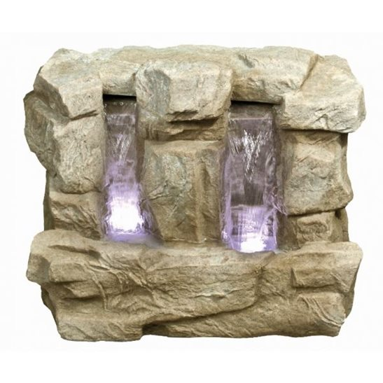 additional image for 2 Fall Wide Sandstone Water Feature