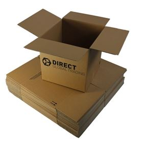 10 Strong Large Cardboard Boxes Ideal for Storage and House Moving (Double Walled)