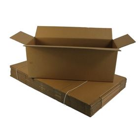 5 Strong Extra Large Cardboard Boxes Ideal for Storage and House Moving (Double Walled)