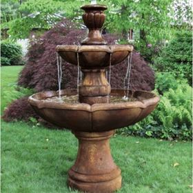 Two Tier Charlotte Fountain (Revel Brown)