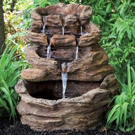 Contemporary Minimalist Style Entwined Couple Water Feature