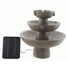 Solar Powered 3 Tier Fountain