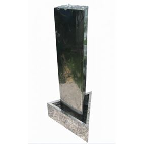 Dunedin Stainless Steel Water Feature with LED Lights