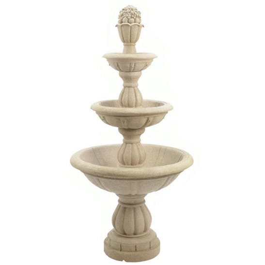 additional image for Classic 3 Tier Fountain Garden Water Feature