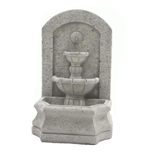 additional image for Two Tier Outdoor Pouring Wall Fountain
