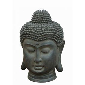 Original Buddha Head Water Feature with LED Lights