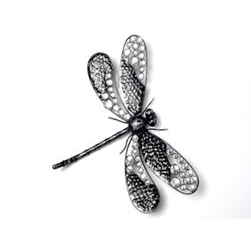 Midnight Garden Dragonfly Wall Art