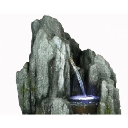 additional image for 4 Fall Jagged Falls Water Feature with LED Lights