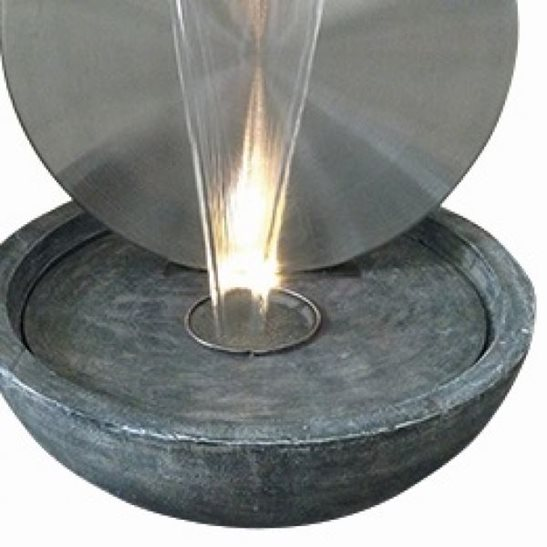 additional image for Kerala Stainless Steel Water Feature